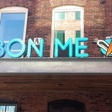 Bone Me Channel Letters