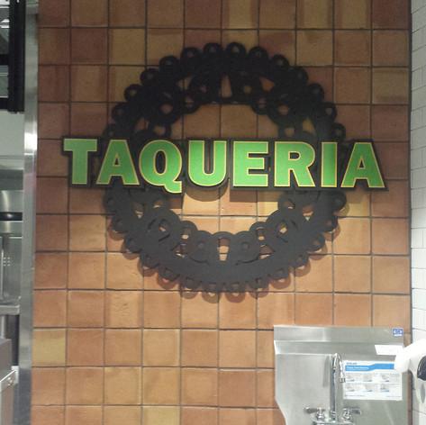 Taqueria Dimensional Letters