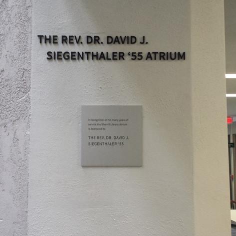 Atrium Dimensional Letters
