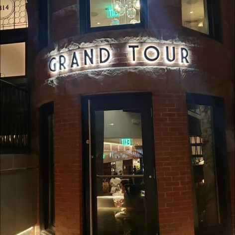Grand Tour Channel Letters