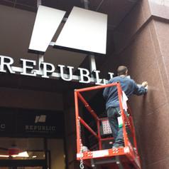 Republic Channel Letters