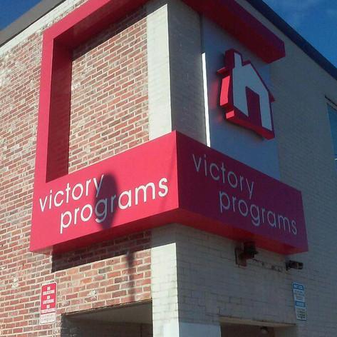 Victory Programs Custom Sign
