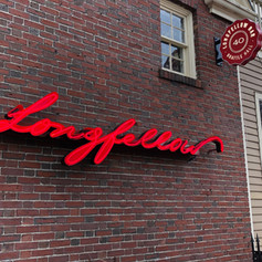 Longfellow Bar Neon Sign