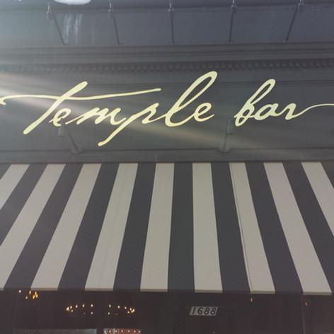 Temple Bar Dimensional Letters