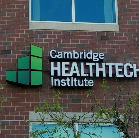 Cambridge Healthtech Channel Letters