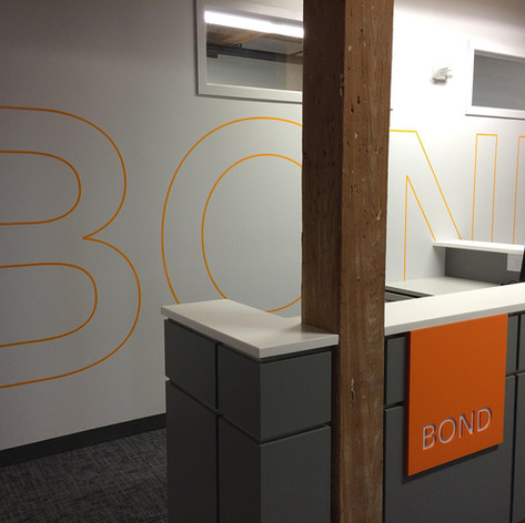 Bond The Grommet Vinyl Graphics