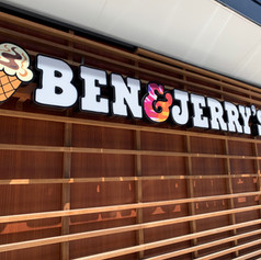 Ben & Jerry's Channel Letters