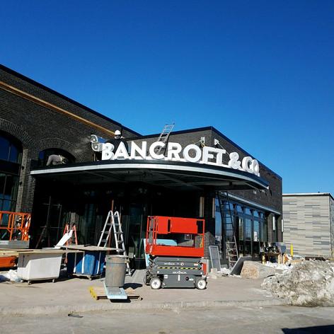 Bancroft Channel Letters