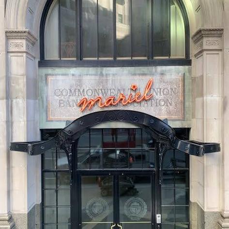 Mariel Neon Sign