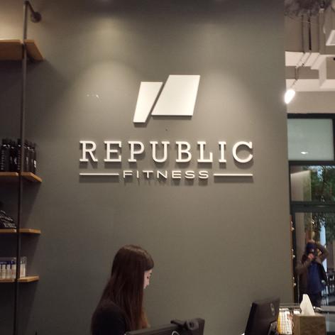 Republic Dimensional Letters