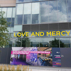 Love and Mercy Dimensional Letters
