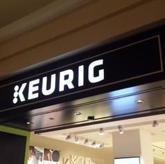 Keurig Wall Sign