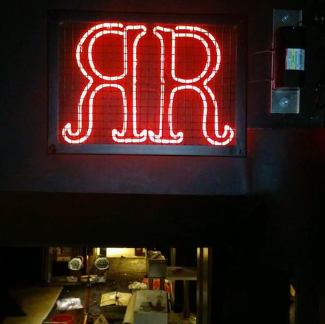 RR Neon Sign