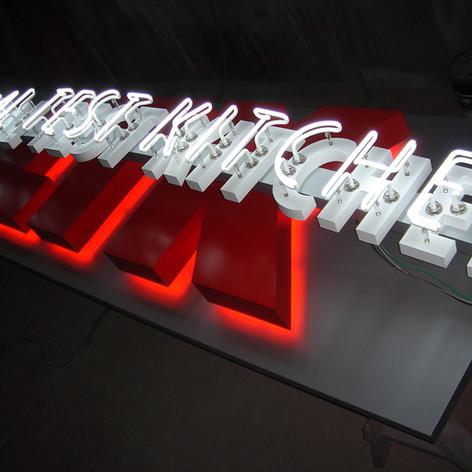 Legal Test Kitchen Neon Sign