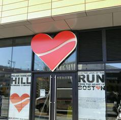 Hill Running Company Wall Sign