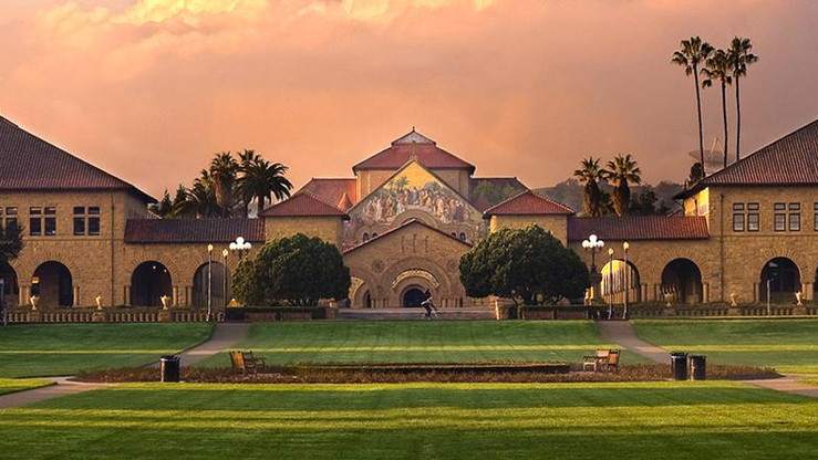 beginning sophomore year at stanford