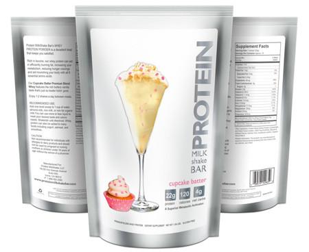 tae's favs: cupcake batter protein powder