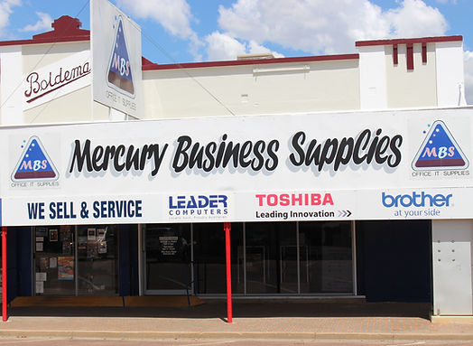 Mercury Business Supplies, Longreach, office equipment, stationery, computers, technology