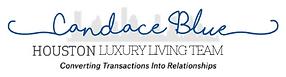 Candace Blue Houston Luxury Living Logo.