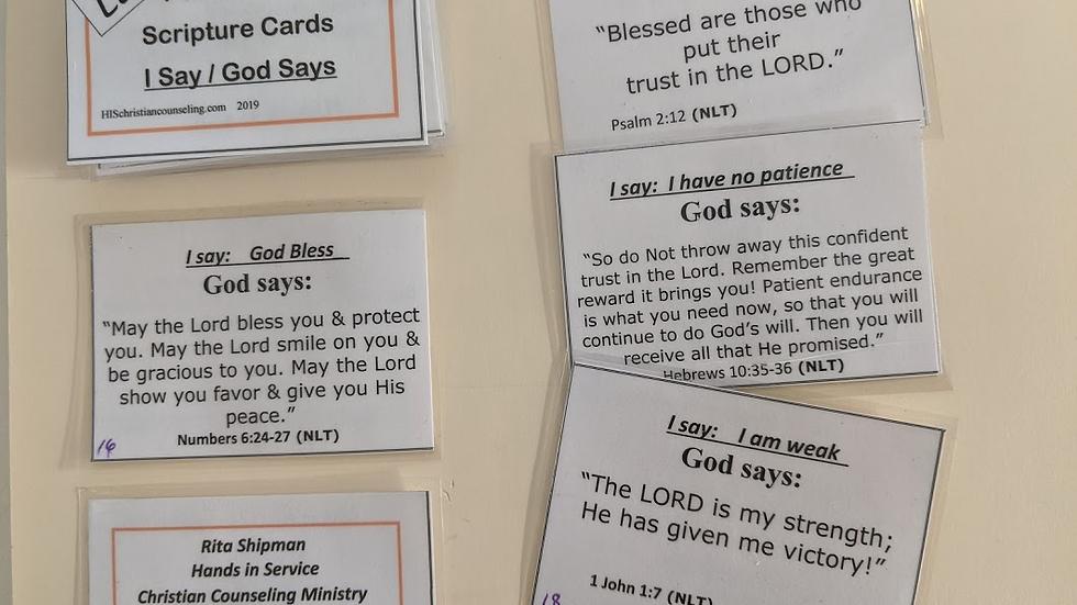I Say / God Says Little Pocketbooks