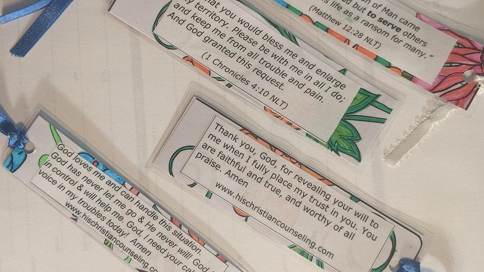 Laminated Scripture Bookmarks