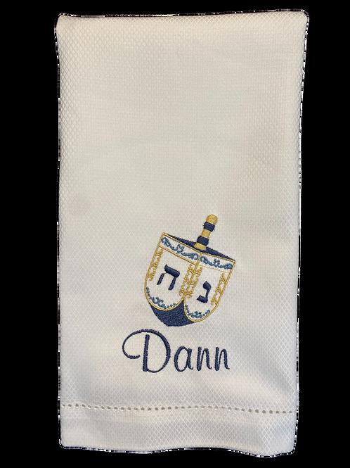 Dreidel Hand Towel