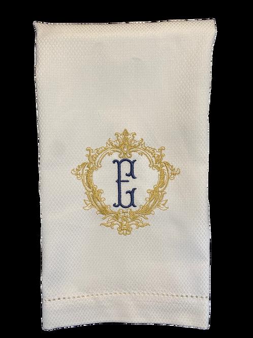 Crest Hand Towel