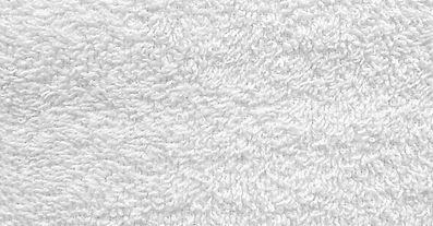Tela de toalla blanca