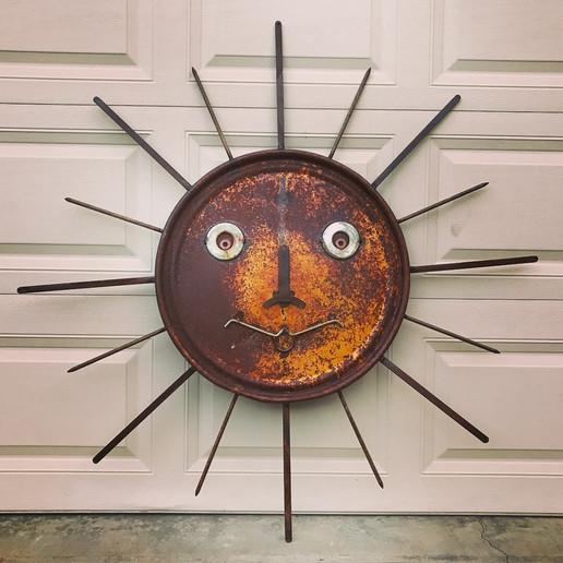 Barrel Lid Sun