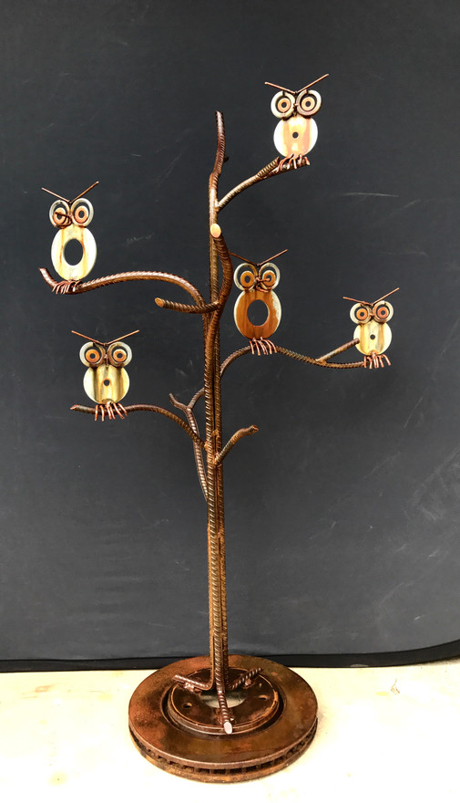 Owls in Tree