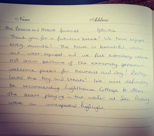 Our latest review 😍 #oaktreecottages #l