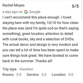 Great review on Google this morning 🌟🌟