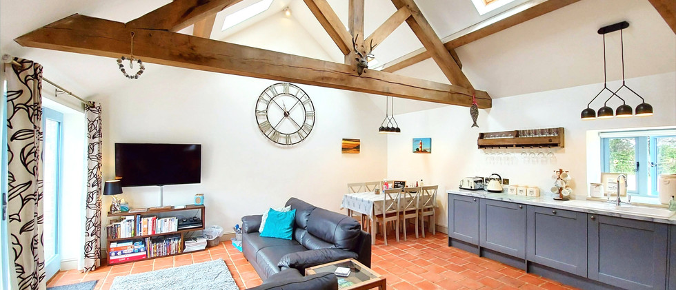 Open Plan living and dining area - Church Fields