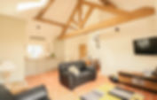 Open plan Living area - Oak Tree Cottages - Oak Tree Cottage