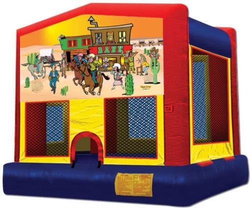 13 x 13 Western Bounce House