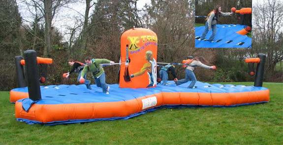 4-way Bungee Challenge