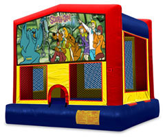 13 x 13 Scooby Doo Bounce House