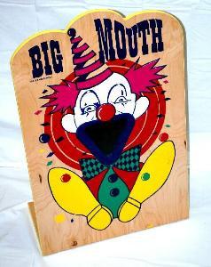 Big Mouth Clown Toss