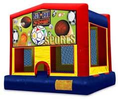 13 x 13 Sports Bounce House