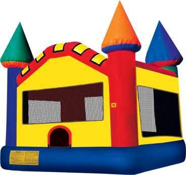 15 x 15 Standard Castle Bounce House