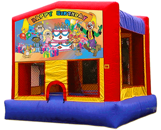 13 x 13 Happy Birthday Bounce House