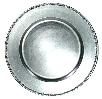 Silver Plate Charger