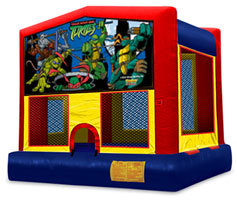 13 x 13 Ninja Turtles Bounce House