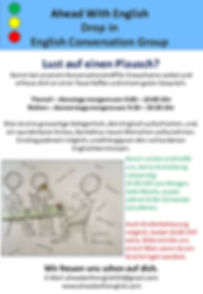 2019 English Conversation flyer Therwil
