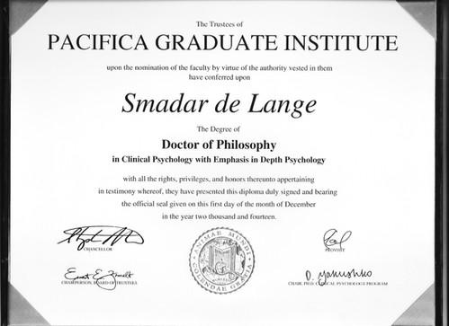 תעודת Ph.D