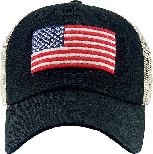 USA Vintage mesh-Operator hat