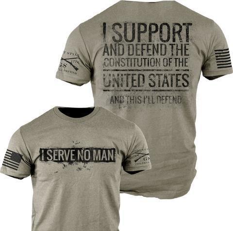 I Serve No Man TShirt