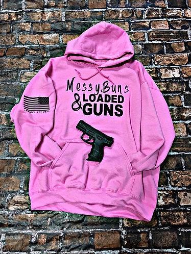 Messy Buns & Loaded Guns - Armory Hoodie