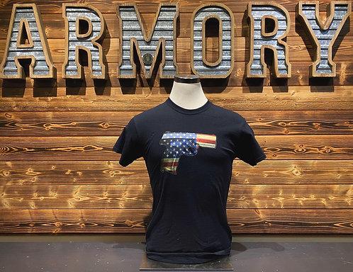 Flag Handgun -T shirt