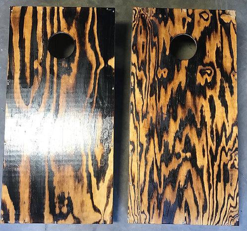 Wood Burned Boards Plain